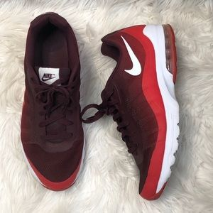 Nike Air Burgundy Red Men's Tennis Shoes Size 11.5